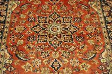 c1930s Antique Highly Detailed Kork Wool_High Kpsi Persian Bijar Rug 4.4x7