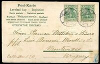 GERMANY, Circulated Postcard 1903, NICE!