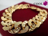 18 Karat Gelbgold Crub Chain Armband