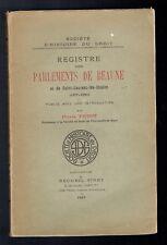 Registre des Parlements de Beaune et de Saint-Laurent-lès-Chalon, 1357-1380
