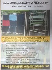 saddle pad drying rack