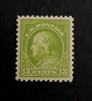 US Stamp, Scott #513 13c 1919 2018 PSE Certificate - GC XF/Superb 95 M/NH