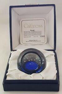 Caithness Ltd Ed Paperweight – Plough – 1977 – Terris – Boxed & Cert – 1343/3000