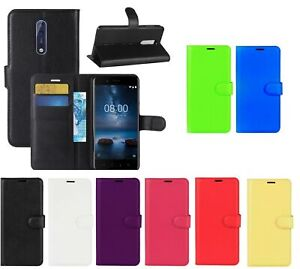For Nokia 2.4 5.4 3.4 (2021) Leather Wallet Book Flip Case Cover Pouch Book Case