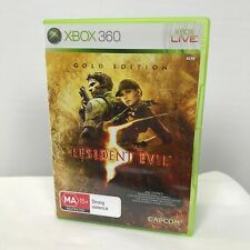 Microsoft Xbox 360 Resident Evil 5 Gold Edition Game R4 PAL AUS/NZ