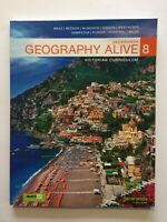 Geography Alive 8 Victorian Curriculum jacaranda - Like New - Marz Bedson Gibson