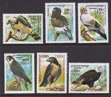 CAMBODIA 1999 BIRDS OF PREY SET NEVER HINGED MINT