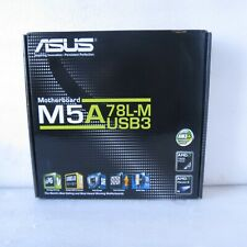 *ASUS M5A78L-M/USB3, AMD 760G (SOCKET AM3+) DDR3 MICROATX MOTHERBOARD