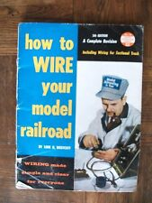 1959 How to Wire Your Model Railroad No 14 by Linn Westcott c