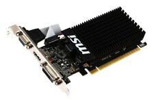 MSI VGA NVIDIA GEFORCE GT710 2GB DDR3 LP DVI-D/VGA/HDMI 2GD3H  V809-2016