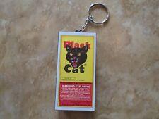 "Black Cat Fireworks ""Exploding"" Firecracker Keychain Key Chain Electronic"