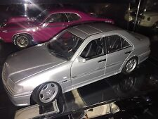 1:18 UT Models 1997 Mercedes-Benz C 36 AMG in Silver