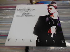 George Michael Queen Lisa Stansfield VINTAGE NEW Flat 1993 Poster 2Sided FREE PH