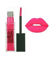 Maybelline Vivid Matte Liquid Lip Colour 30 Fuchsia Ecstasy vibrant pink