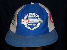trucker hat baseball cap 25TH ANNIVERSARY OK TIRE STORE good style retro cool