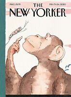 "THE NEW YORKER MAGAZINE  FEBRUARY17 - 24 2020  ""ORIGINS"" NEW SHIPS FREE"