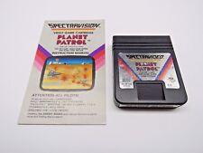 Planet Patrol (Atari 2600, 1982) By Spectravideo (Cartridge & Manual Only) NTSC