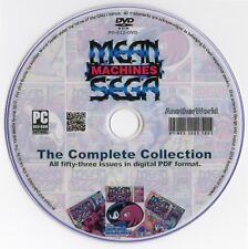MEAN MACHINES SEGA Magazine Collection on Disk (Master System/Mega Drive Games)