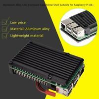 Enclosure Case Metal Shell Radiating Plate Heatsink Cooler for Raspberry Pi 4B+
