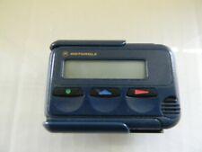 Motorola Mini Call Alphanumeric Pager -  Mercury with Holster