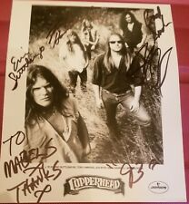 AUTOGRAPHED PHOTO OF COPPERHEAD