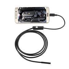 TELECAMERA SONDA IMPERMEABILE ENDOSCOPICA PER ANDROID ISPEZIONE MICRO USB 5MT