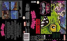 JOE & MAC Super Nintendo Replacement SNES Box Art Case Insert Cover Inlay