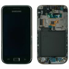 Samsung Galaxy S gt-i9000 pantalla LCD táctil de vidrio cristal marco negro