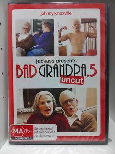Jackass Presents - Bad Grandpa .5 Uncut (DVD, 2014) Region 4, New & Sealed