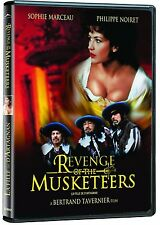 Revenge Of The Musketeers (DVD) Sophie Marceau, Philippe Noiret NEW