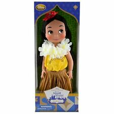 NEW Disney Animators Collection Hawaii IT'S A SMALL SMALL WORLD SINGING DOLL 16""