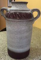 "Large Vintage Carstens West Germany Mid Century 12"" Heavy Vase"