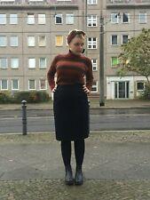 Damenrock Rock schwarz mit Unterrock 80er TrueVINTAGE 80s black skirt mini 42