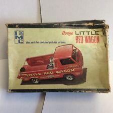 IMC Model Truck Kit 1965 Dodge A-100 Little Red Wagon Vintage