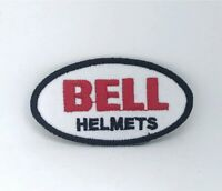 Bell Helmet Motorcycles Racing Biker Iron/Sew-on Embroidered Patch logo