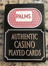 Palms Authentic Casino Played Cards Las Vegas Style Nevada Sealed Box