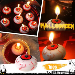 Eyeball Floating Halloween Candles Halloween Party Decorations Candle Decor