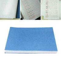 100pcs/set Tracing Paper Translucent Copybook Acid F9N4 Paper Tracing Sketc P8G6