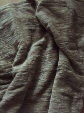 1 Thermo Winter Sommer Chenille Vorhang Gardine beige Band B/H 132 x 245 cm