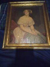 Vintage Framed Print of Jenny Lind