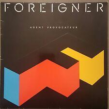 FOREIGNER - Agent Provocateur - Vinyl LP - Lyrics + Insert - Ex. Cond FREE POST