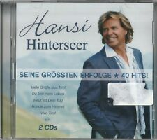 Hansi Hinterseer - Seine größten Erfolge - 40 Hits (NEU/OVP, 2 CD`s)