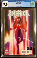 AMERICA #12 CGC 9.6 LAST ISSUE VERY LOW PRINT RUN America Chavez Dr Strange MCU