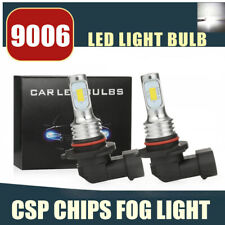 9006 LED Headlight Bulbs Conversion Kit Super High/Low Beam 80W 4000LM 6000K WH