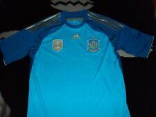España Fútbol Camisa 2010 campeón Camisa Med