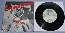 """The Unwanted - Secret Police UK Raw Records 1978 7"""" P/S"""