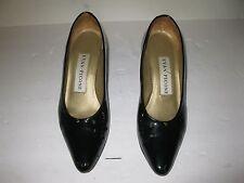 """Womens 7.5 M EVAN PICONE Black  2"""" Heel Dress Shoes"""