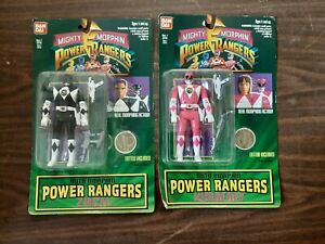 Collectible ban dai mighty morphin power rangers 6 figures 4 space aliens moc