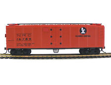 HO Scale Model Railroad Trains Layout Illinois Central Reefer Boxcar IC 98262