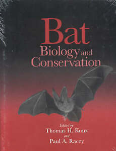 Bat Biology and Conservation, New,  Book